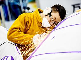 铝合金车身修复技术
