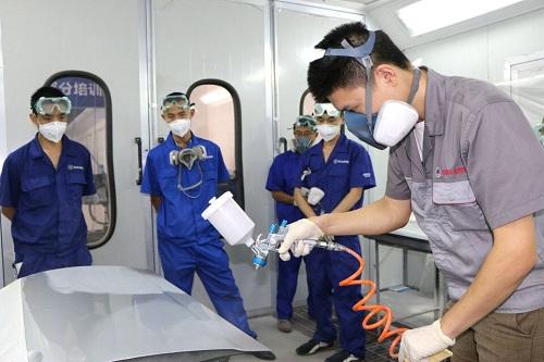 9月19日,长安汽车喷漆技术提升集训营第三期按照既定