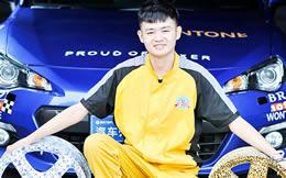 我叫王湘 我在成都万通学汽修